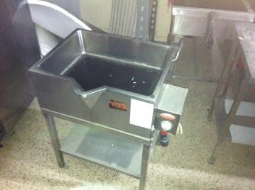 סיר בישול/טיגון מתהפך 50 ליטר עם משפך