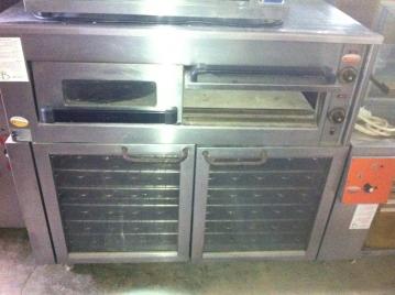תנור פיצה אבן ל-4 פיצות
